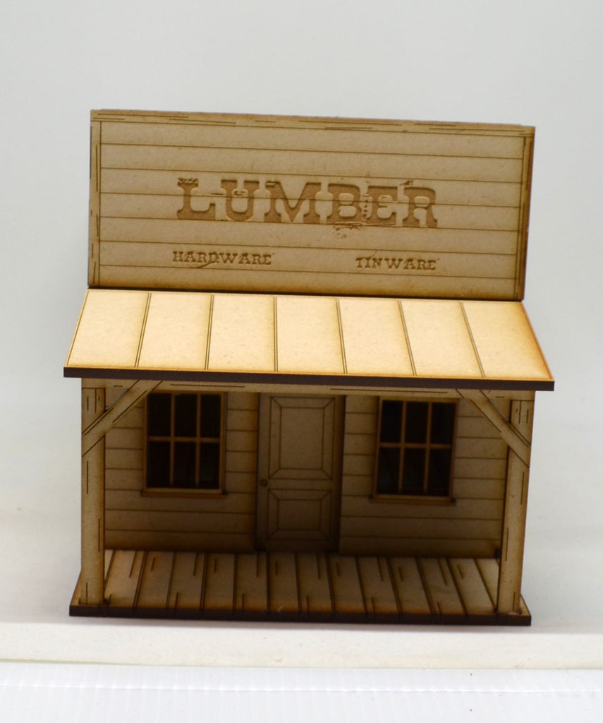 Boom Town Lumber Building