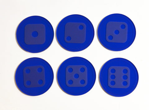 Dice Marker Tokens