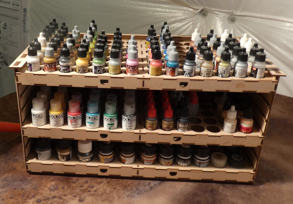 Large Modular Paint Rack