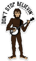 Woodbooger Banjo Sticker