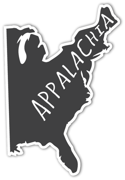 Appalachia Map Decal