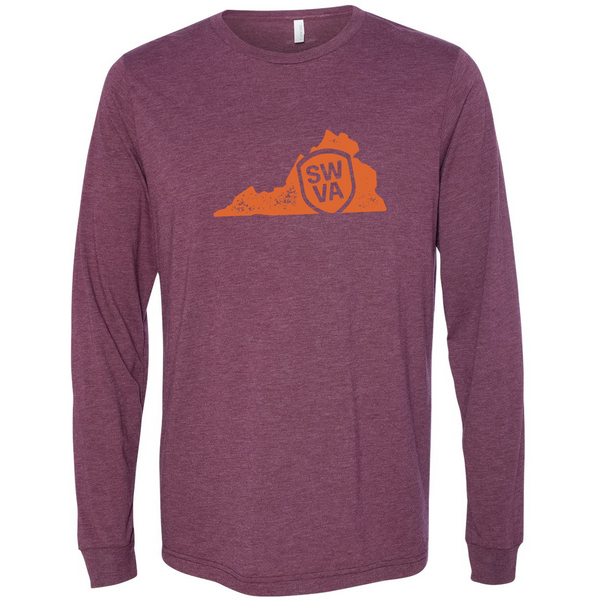 SWVA State Tee Long Sleeve