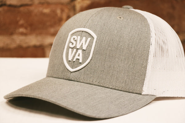 SWVA Grey Trucker Cap