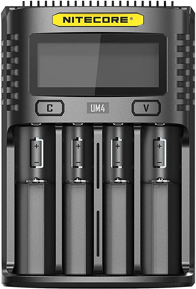 NiteCore UM4 4-Bay Battery Charger