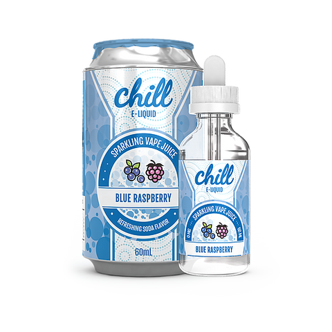 Blue Raspberry - Chill E-Liquids