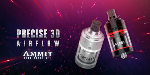 Geekvape Ammit MTL RTA (Nicotine-Salt Friendly)