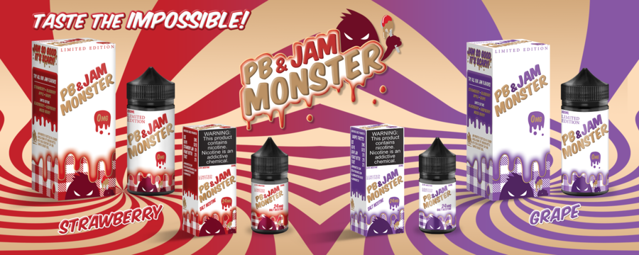 Strawberry PB&J - Jam Monster