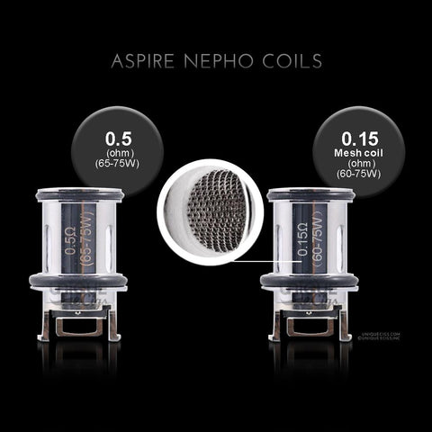 Aspire Nepho Replacement Coils (3-PK)