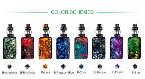 VOOPOO Drag Mini 117W Kit with UFORCE T2 4400mAh