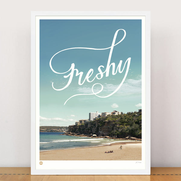 Burbia Freshy Limited Edition Print