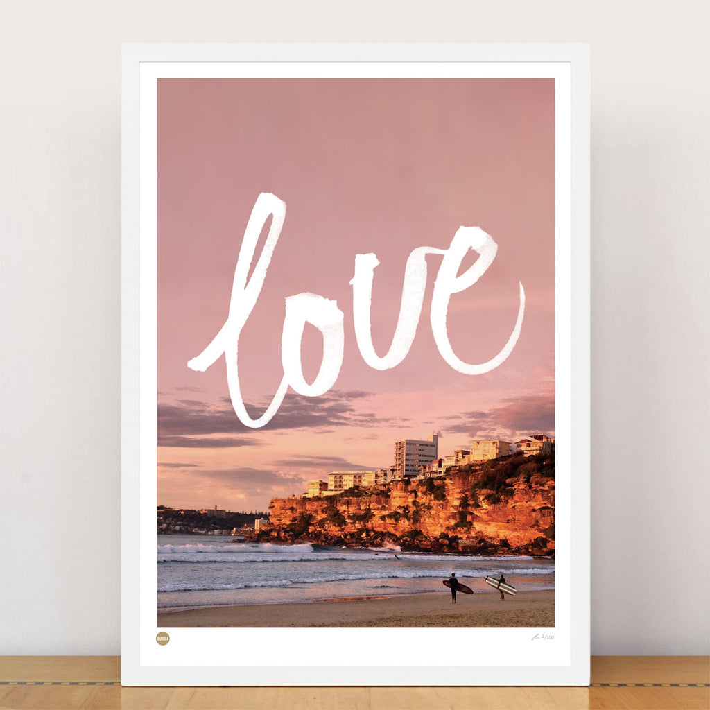 Burbia Love Freshwater Limited Edition Print