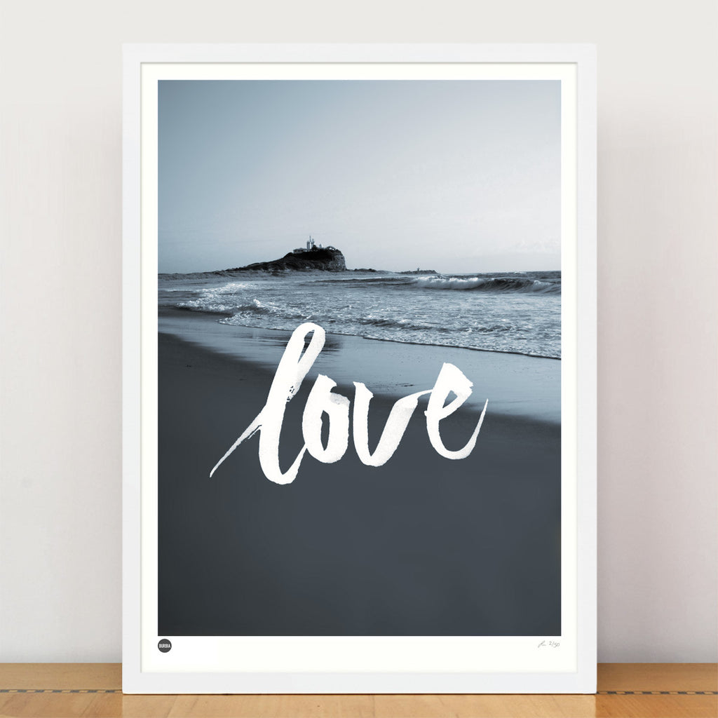 Burbia Love Newcastle Limited Edition Print