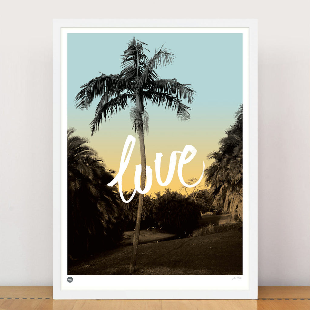 Burbia Love in the Park Limited Edition Print