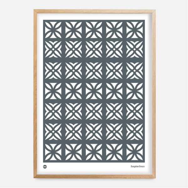 Bungalow Breeze Block Print