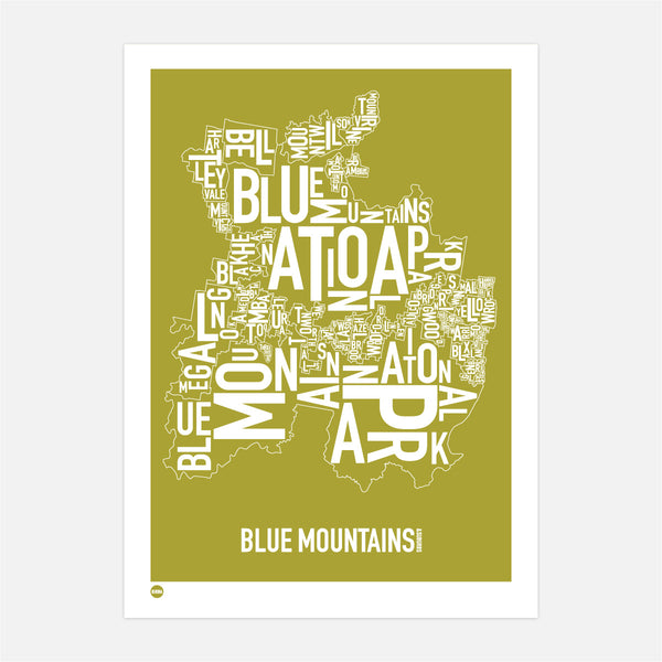 Blue Mountains in Olive
