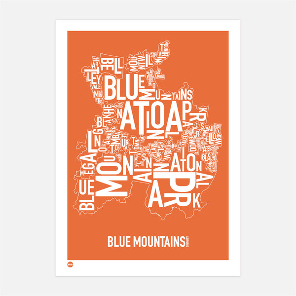 Blue Mountains in Orange