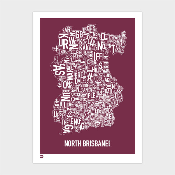North Brisbane in Maroon
