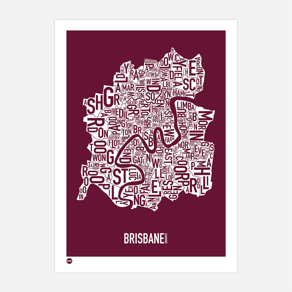 Brisbane Type Map
