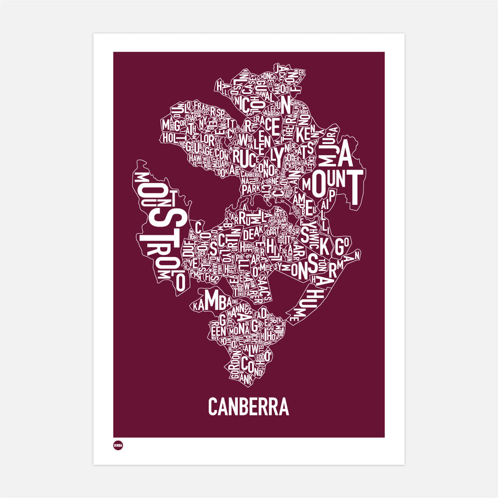Canberra in Maroon