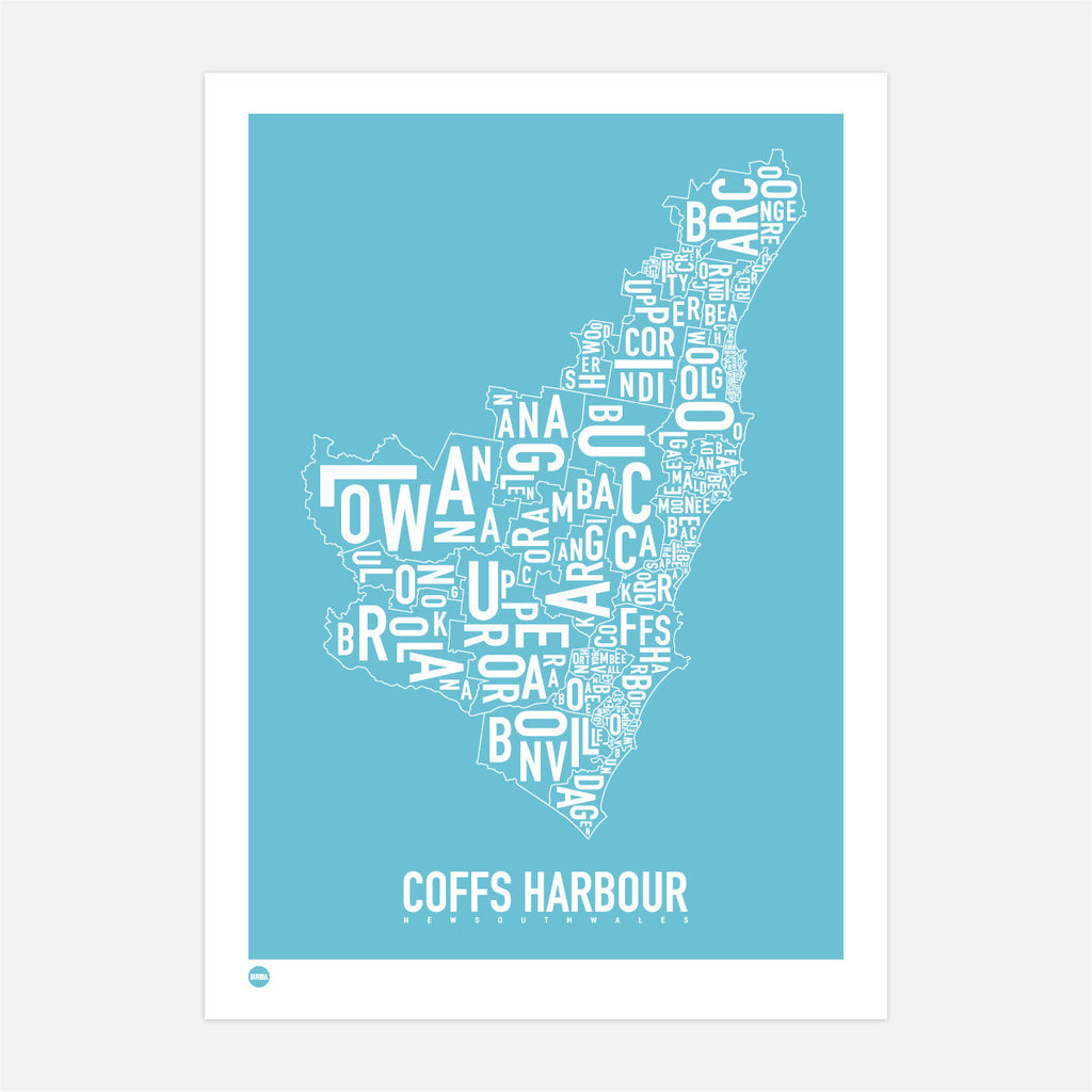 Coffs Harbour Type Map