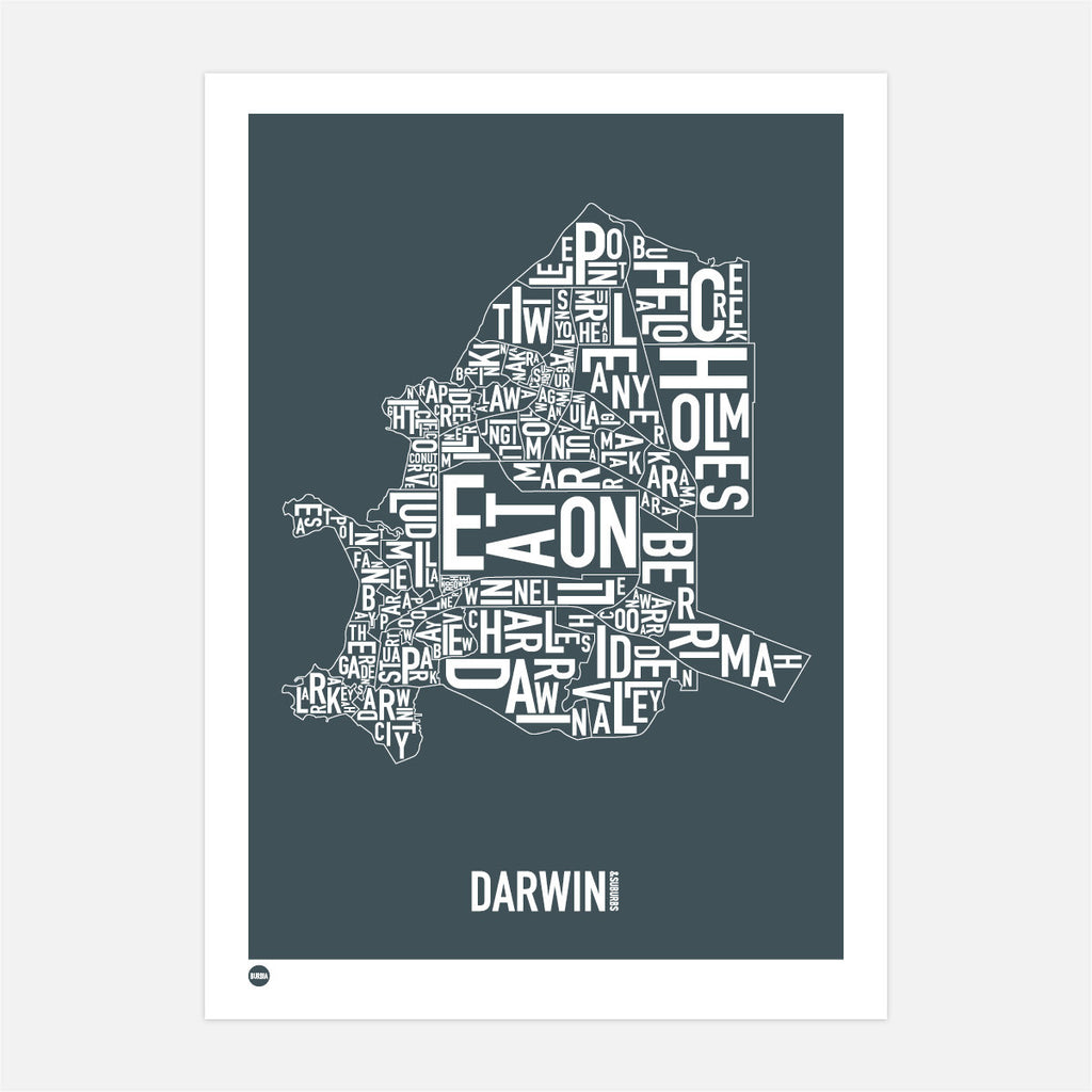 Burbia Darwin Type Map