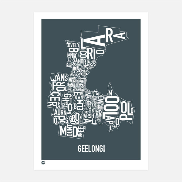 Geelong Type Map