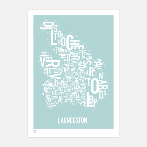Burbia Launceston Type Map