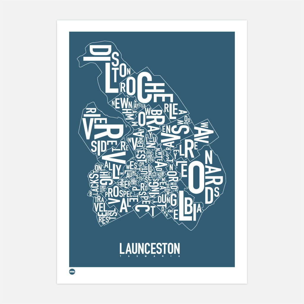 Launceston in River Blue