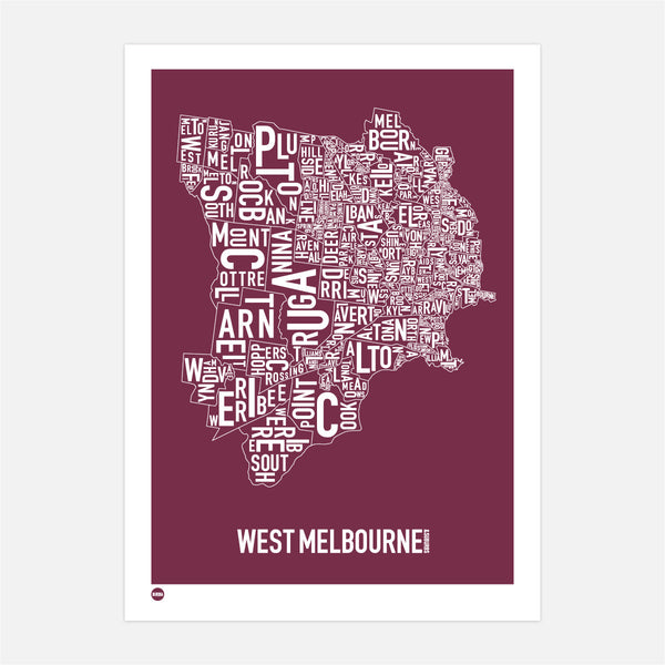 West Melbourne in Maroon