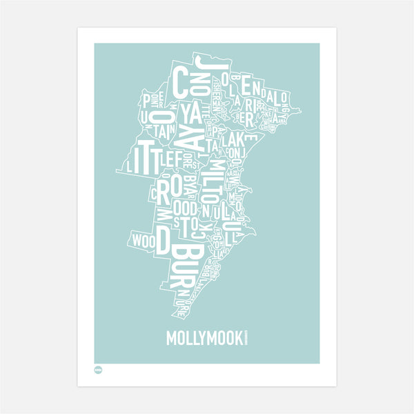 Mollymook Type Map