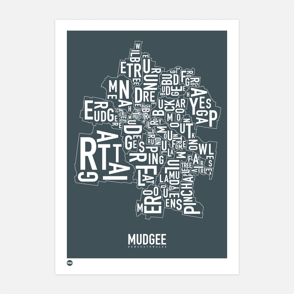 Mudgee Type Map