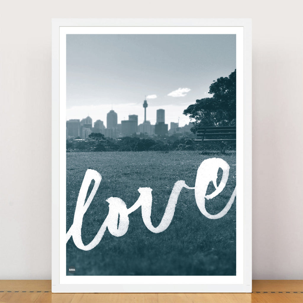 Love Sydney Limited Edition Print