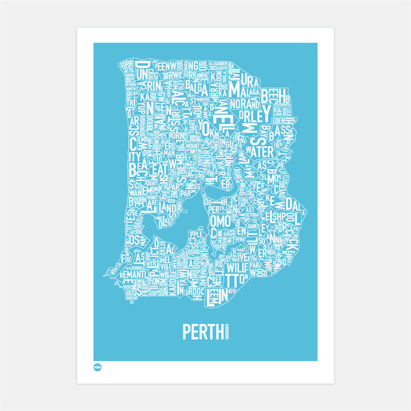Perth in Ocean Blue