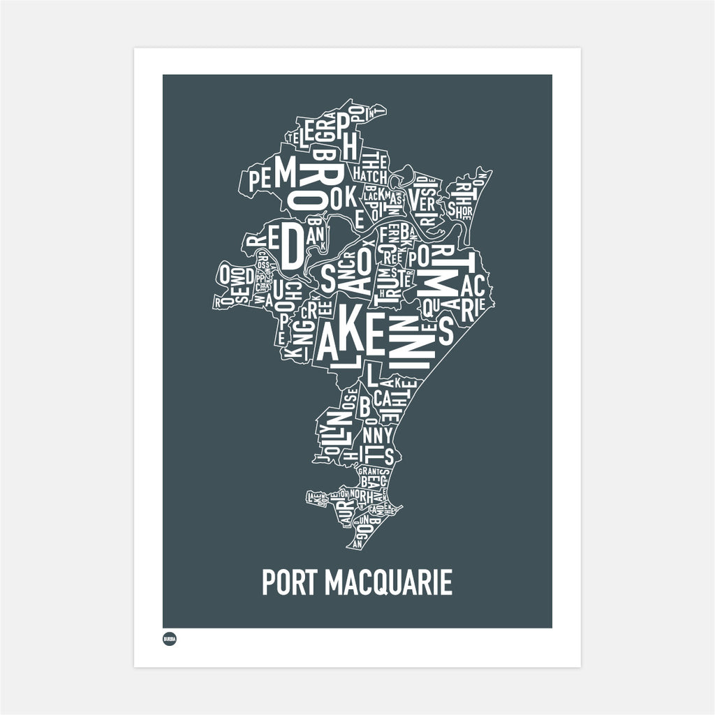 Port Macquarie Type Map