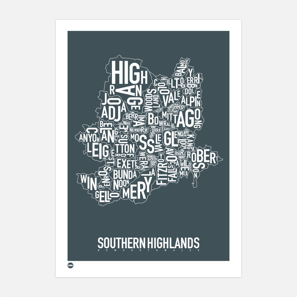 Southern Highlands Type Map