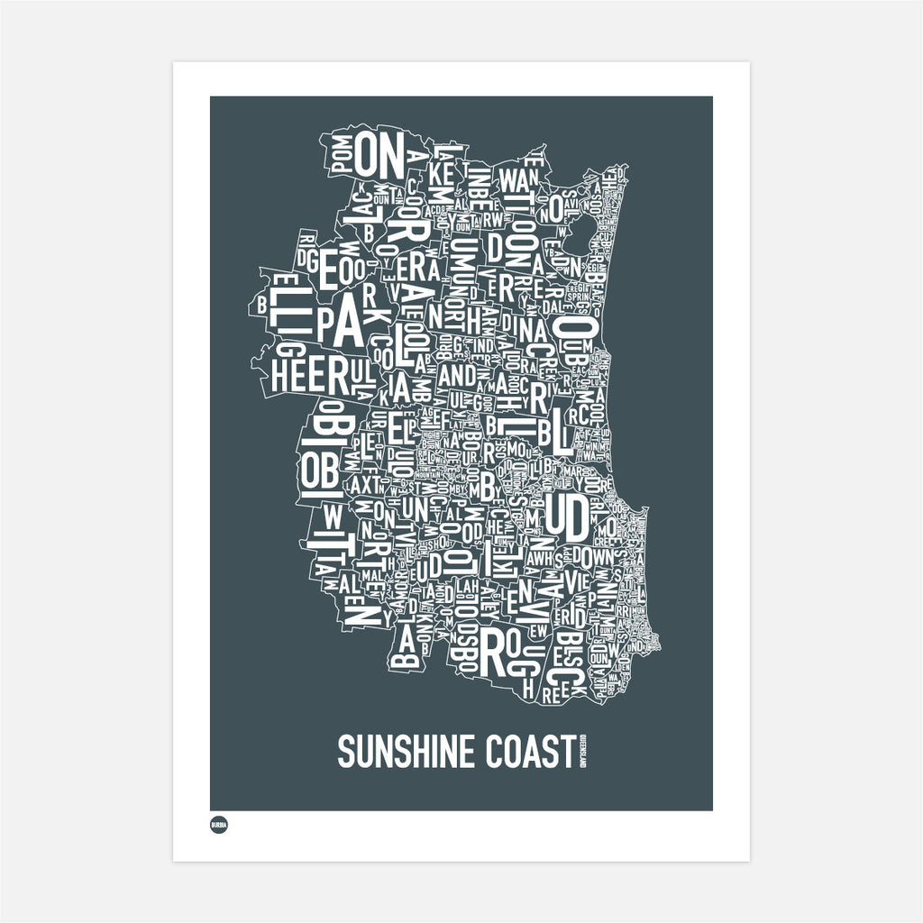 Burbia Sunshine Coast Type Map