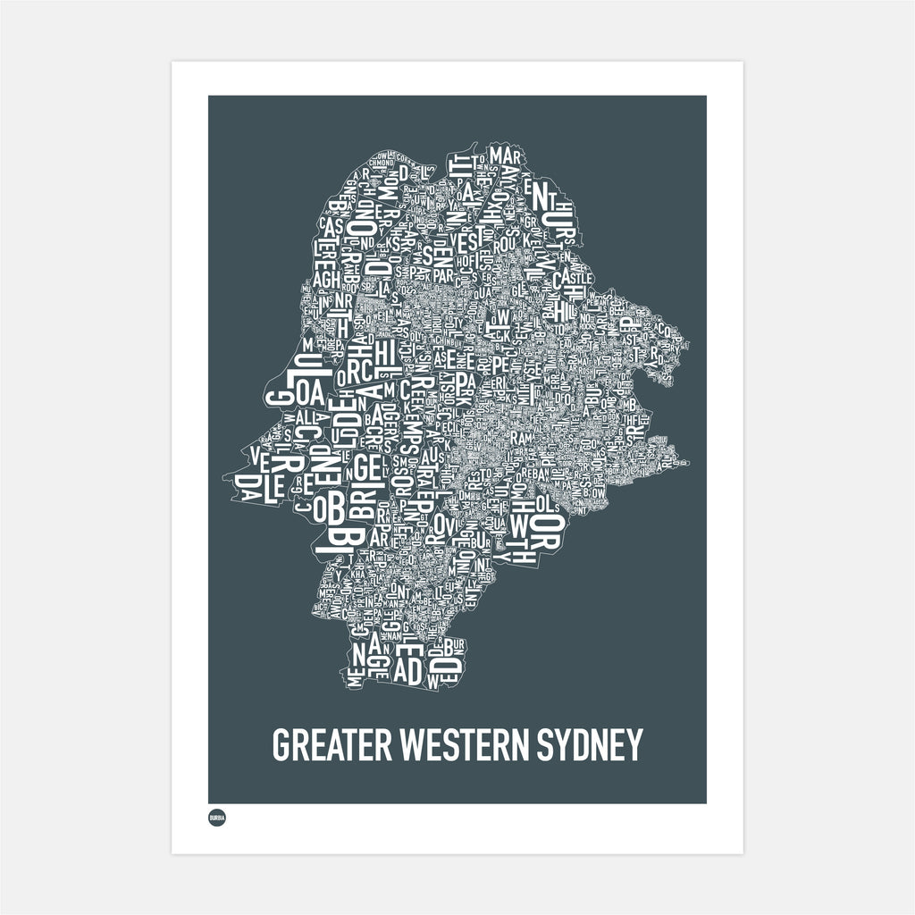 Greater Western Sydney Type Map