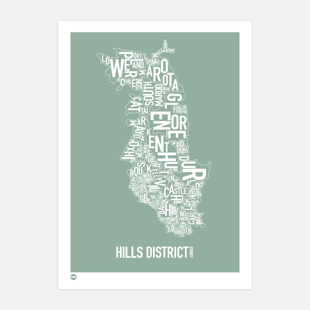 Hills District in Leafy Green