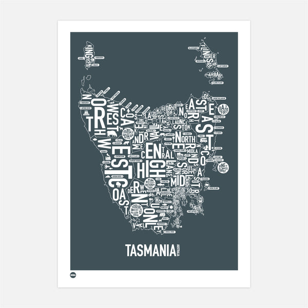 Tasmania Type Map
