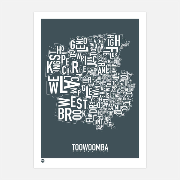 Toowoomba Type Map