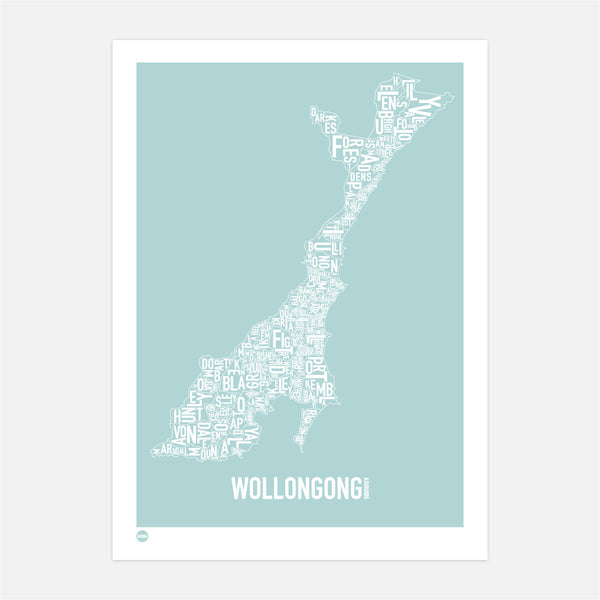Wollongong Type Map