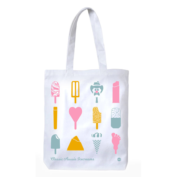 Classic Aussie Icecreams Tote Bag