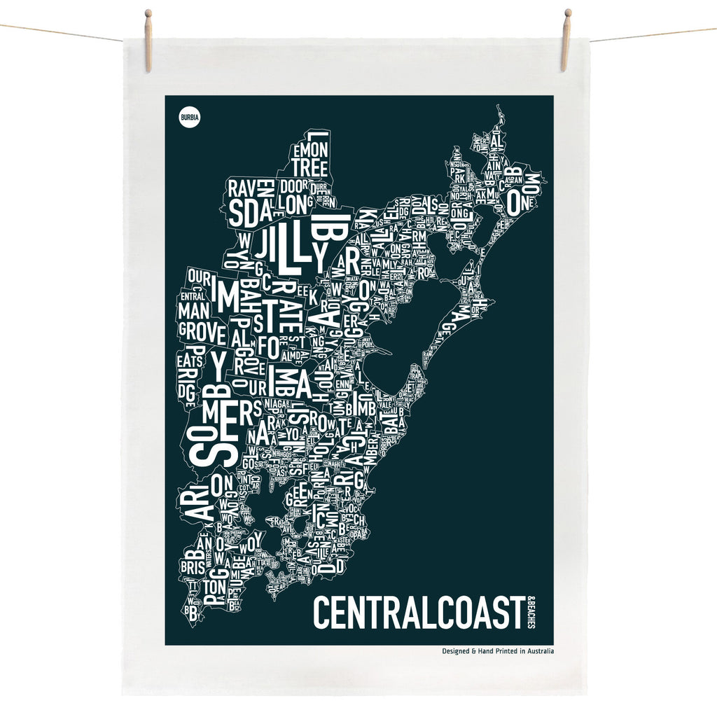 Central Coast Tea Towel