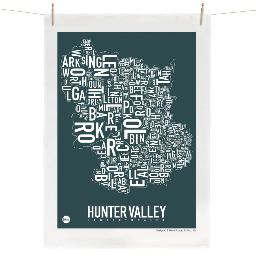 Hunter Valley Tea Towel
