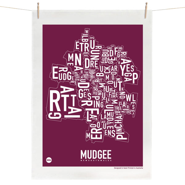 Mudgee Tea Towel