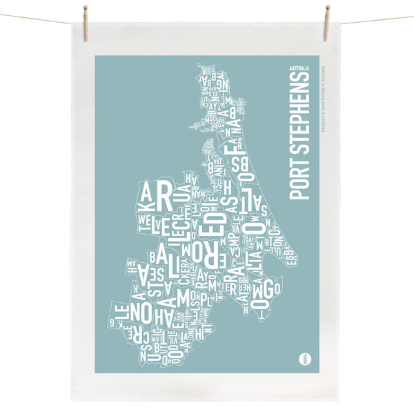 Port Stephens Tea Towel