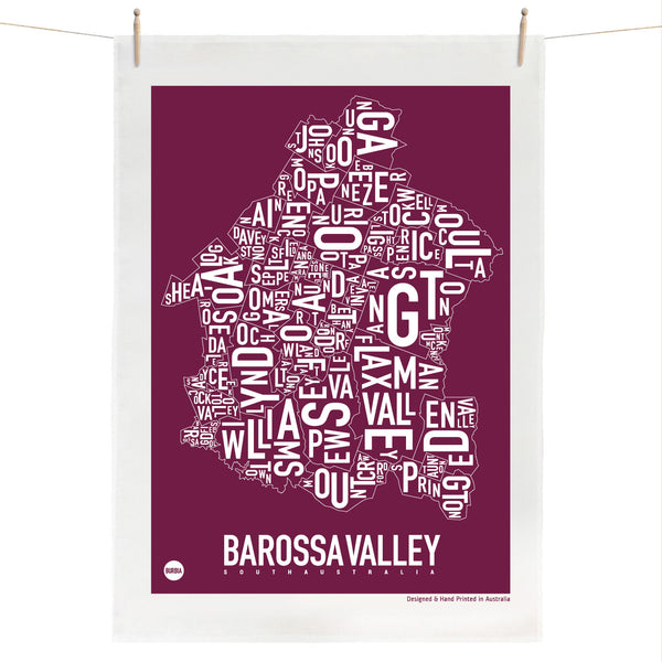 Barossa Valley Tea Towel