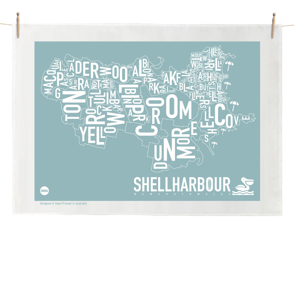 Shellharbour Tea Towel