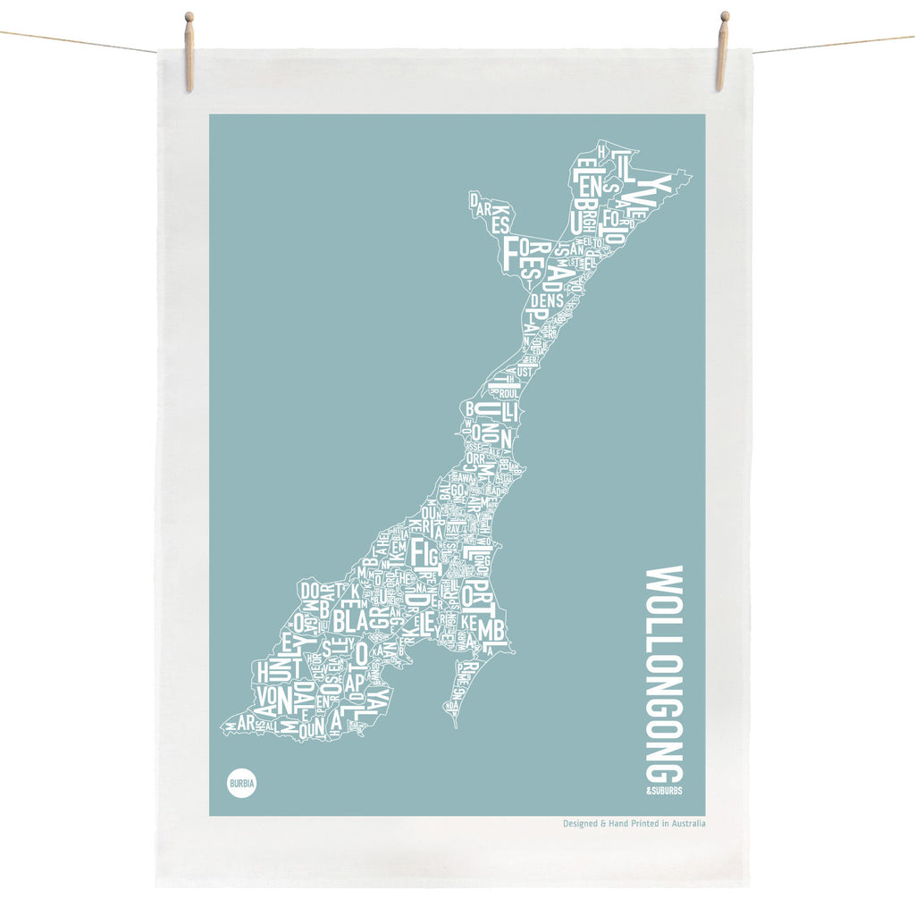 Wollongong Tea Towel