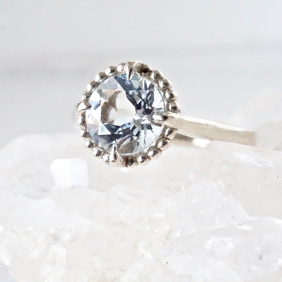 Aquamarine Engagement Ring, Compass Collection